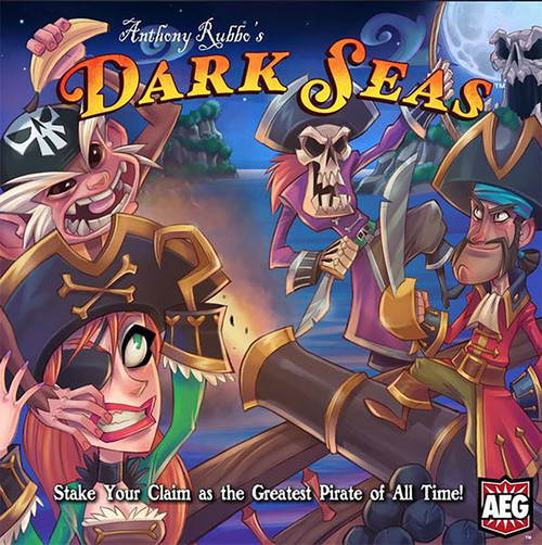 Anthony Rubbe's Dark Seas Board Game Of Pirates