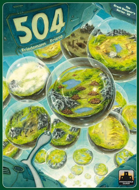 504 Earth Building Board Game, Stronghold Games