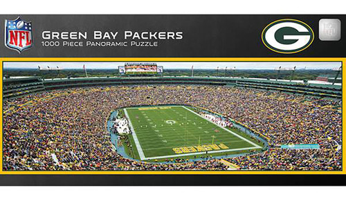 Green Bay Packers Lambeau Field 1000 Piece Panoramic Puzzle