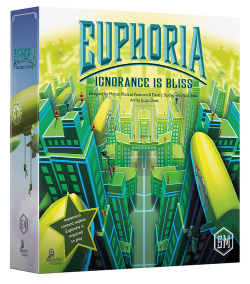 Euphoria: Ignorance Is Bliss Expansion to Euphoria: Build a Better Dystopia