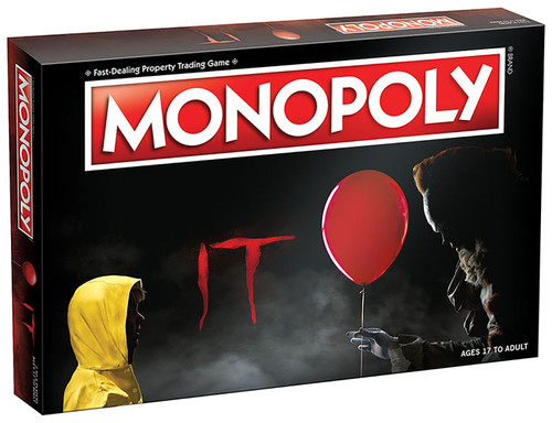 Monopoly It Edition board game