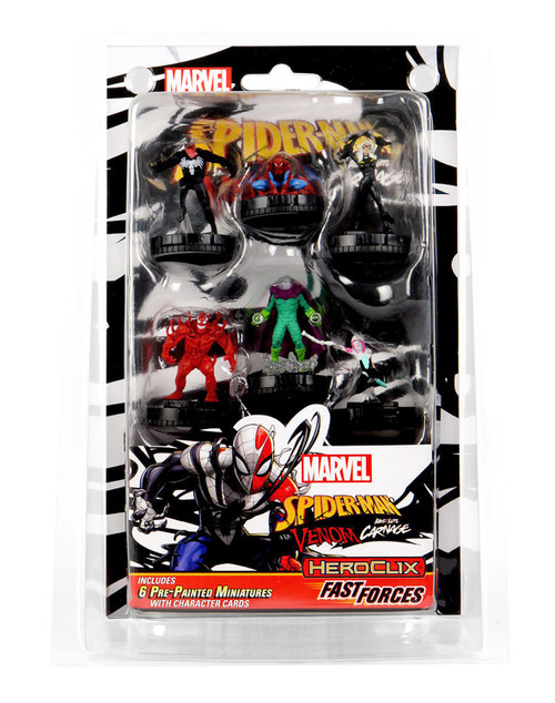Marvel HeroClix Spider-Man and Venom Absolute Carnage Fast Forces