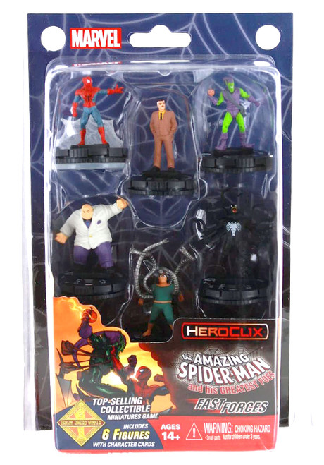 Marvel HeroClix: Spider-Man and His Greatest Foes Fast Forces