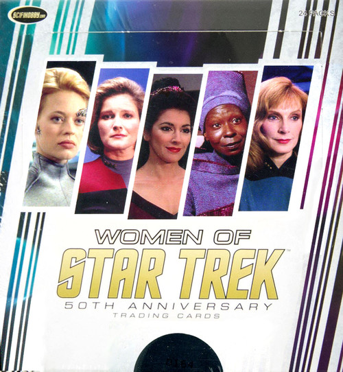 Rittenhouse 50th Anniversary Women Of Star Trek Hobby Box