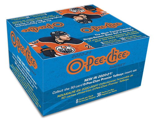 2020-21 O-Pee-Chee NHL Hockey Retail Box of 36 Packs
