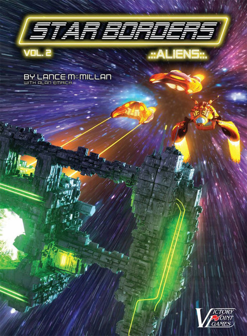 Star Borders #2: Aliens science fiction war game