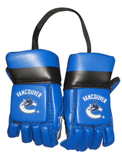 Vancouver Canucks Kloz NHL Hockey Mini Gloves Authentic Replicas