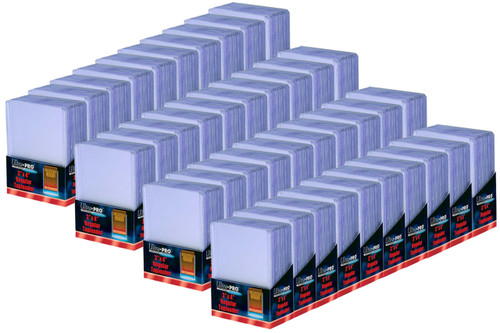 """1000 Ultra Pro Regular Clear 3"""" x 4"""" Toploaders sports cards storage protection"""