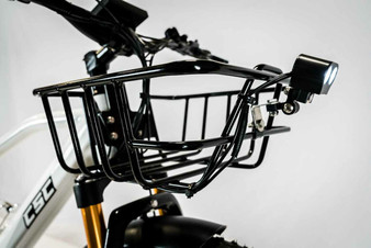 "BASKET, Front Carrier, Rack Black Color, fits 20"" & 26"""