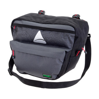 BAG AXIOM H-BAR SEYMOUR O-WEAVE P-7 GY/BLACK
