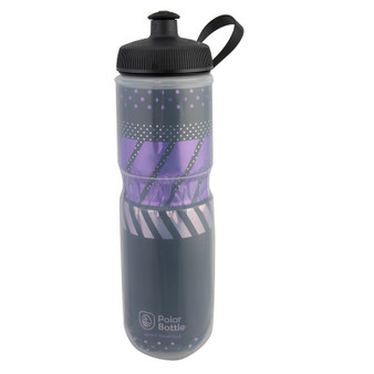 BOTTLE POLAR SPORT INSULATED 24OZ TEMPO CHARCOAL/PK