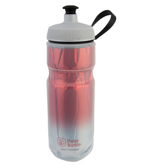 BOTTLE POLAR SPORT INSULATED 20OZ FADE RD/SL