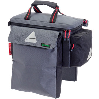 AXIOM BAG, PANNIER, 22+ SEYMOUR OCEANWEAVE, PR. GREY/BLACK