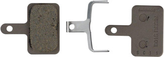 SHIMANO DISC BRAKE PADS, BO1S RESIN, BR-M416, T615, SPRING & 2 PINS