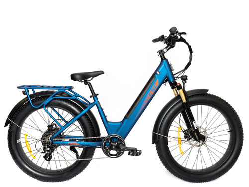 PRE-ORDER FT750ST Step Through Electric Bicycle - Blue