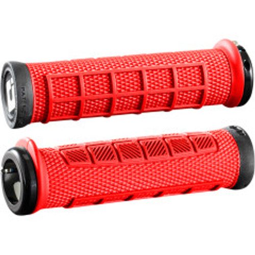 Pro V2.1 Lock-On Grips Red