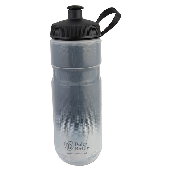 BOTTLE POLAR SPORT INSULATED 20OZ FADE CHARCOAL/SL
