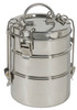 To-Go Ware Stainless Steel Tiffin Box (3-tier)