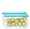 (re)zip Lay-Flat Snack Leakproof Reusable Storage Bags (2-pack)