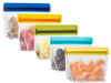 1-cup (re)zip Stand-Up Reusable Storage Bags (5-pack)