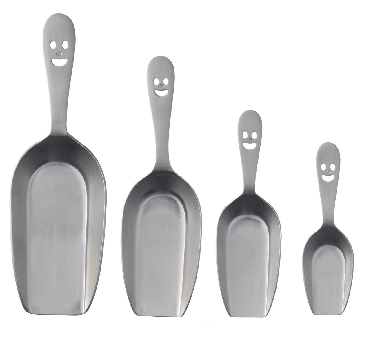 Happy Face Flat Bottom Scoop (12-pack)