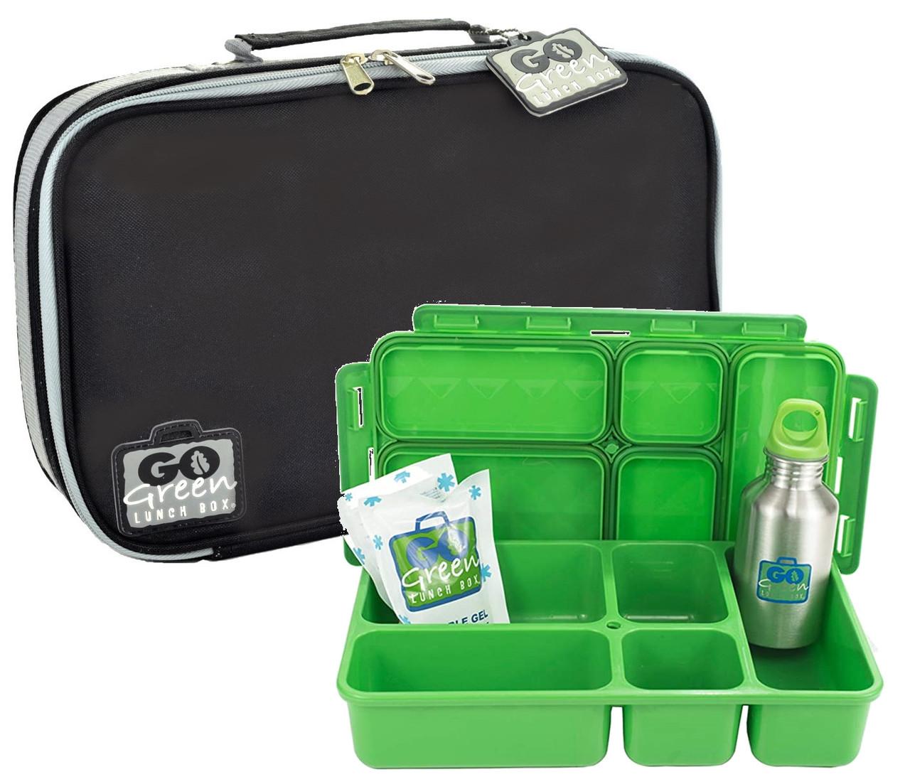 Go Green Leak-Proof Lunchbox Set