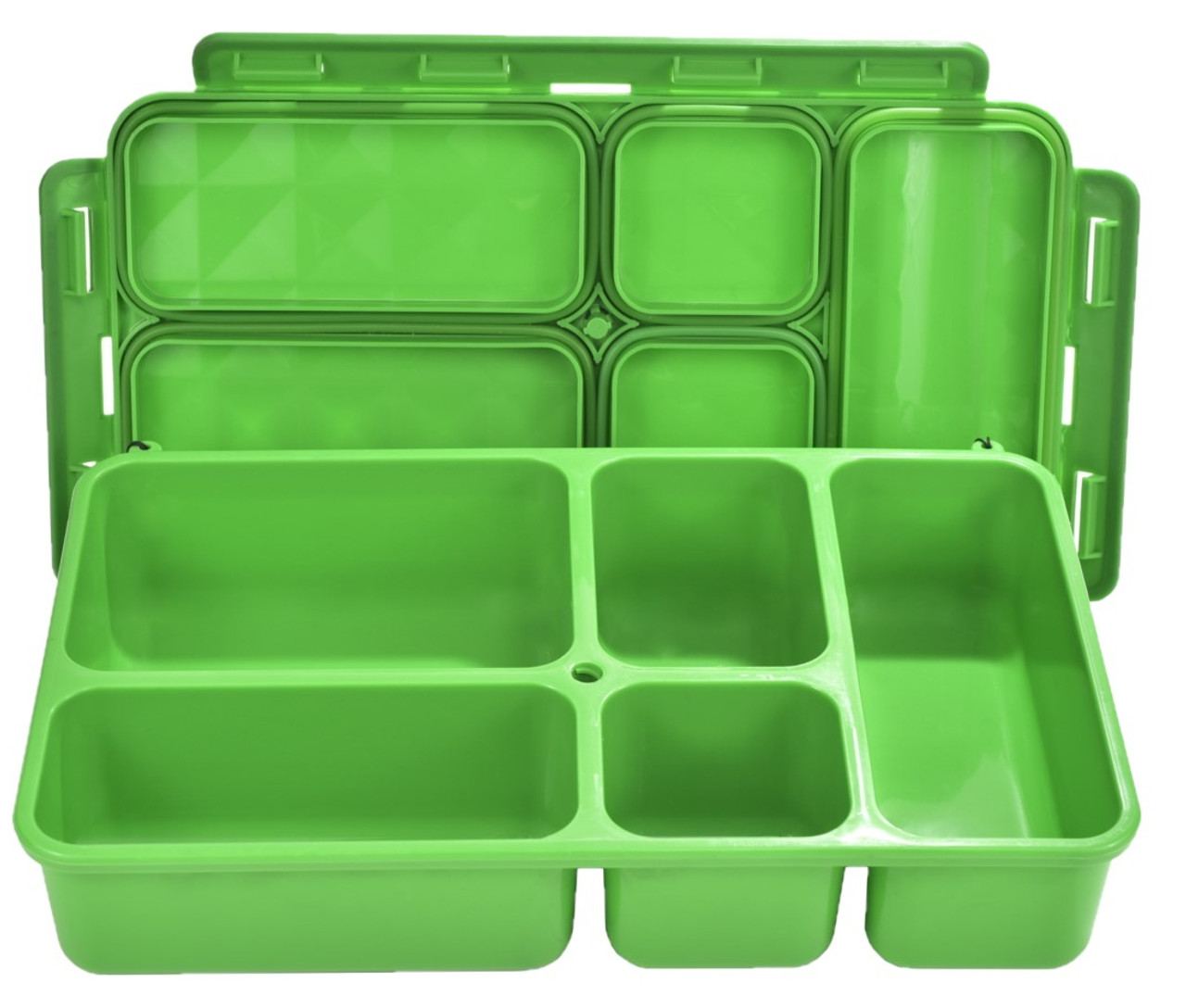 Go Green 5-compartment Leak-Proof Foodbox (Large)