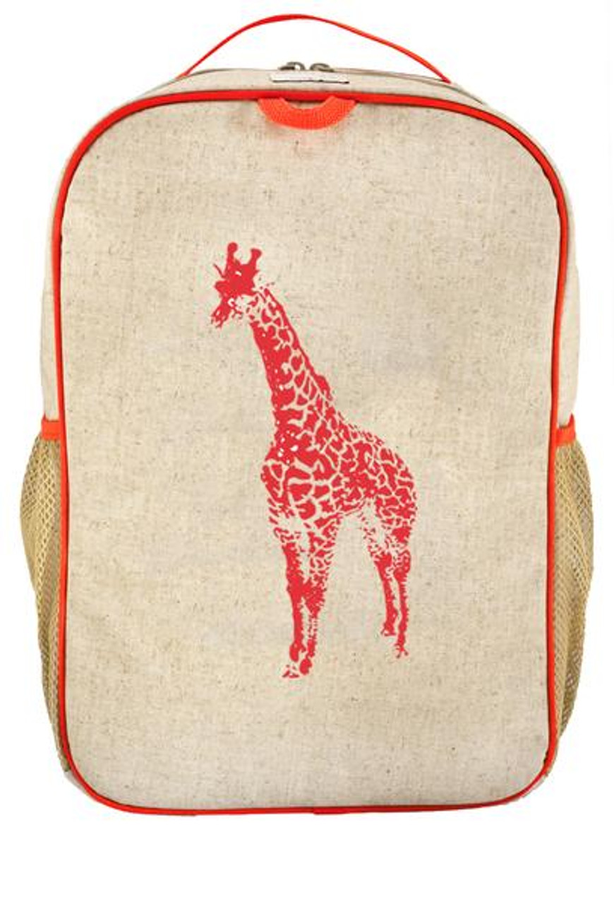 SoYoung Raw Linen Grade School Backpack