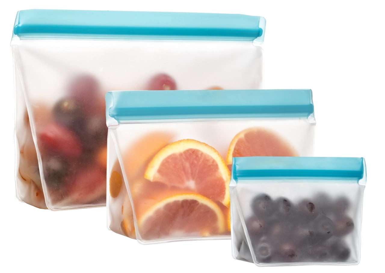 (re)zip Reusable Stand-Up Leak-Proof Bags (3-pack)