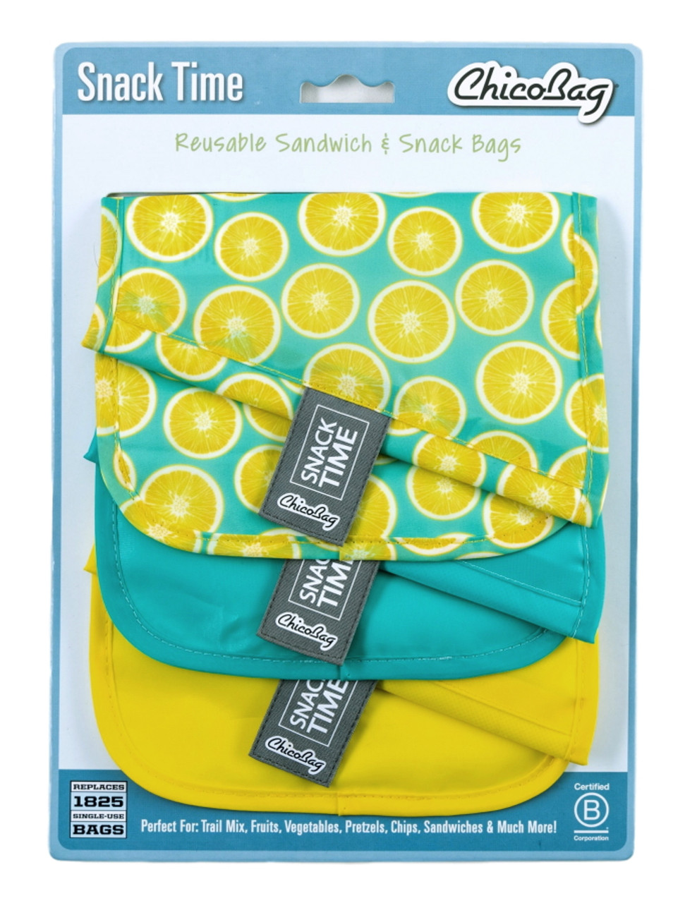 ChicoBag Snack Time Snack/Sandwich Bags (3-pack)