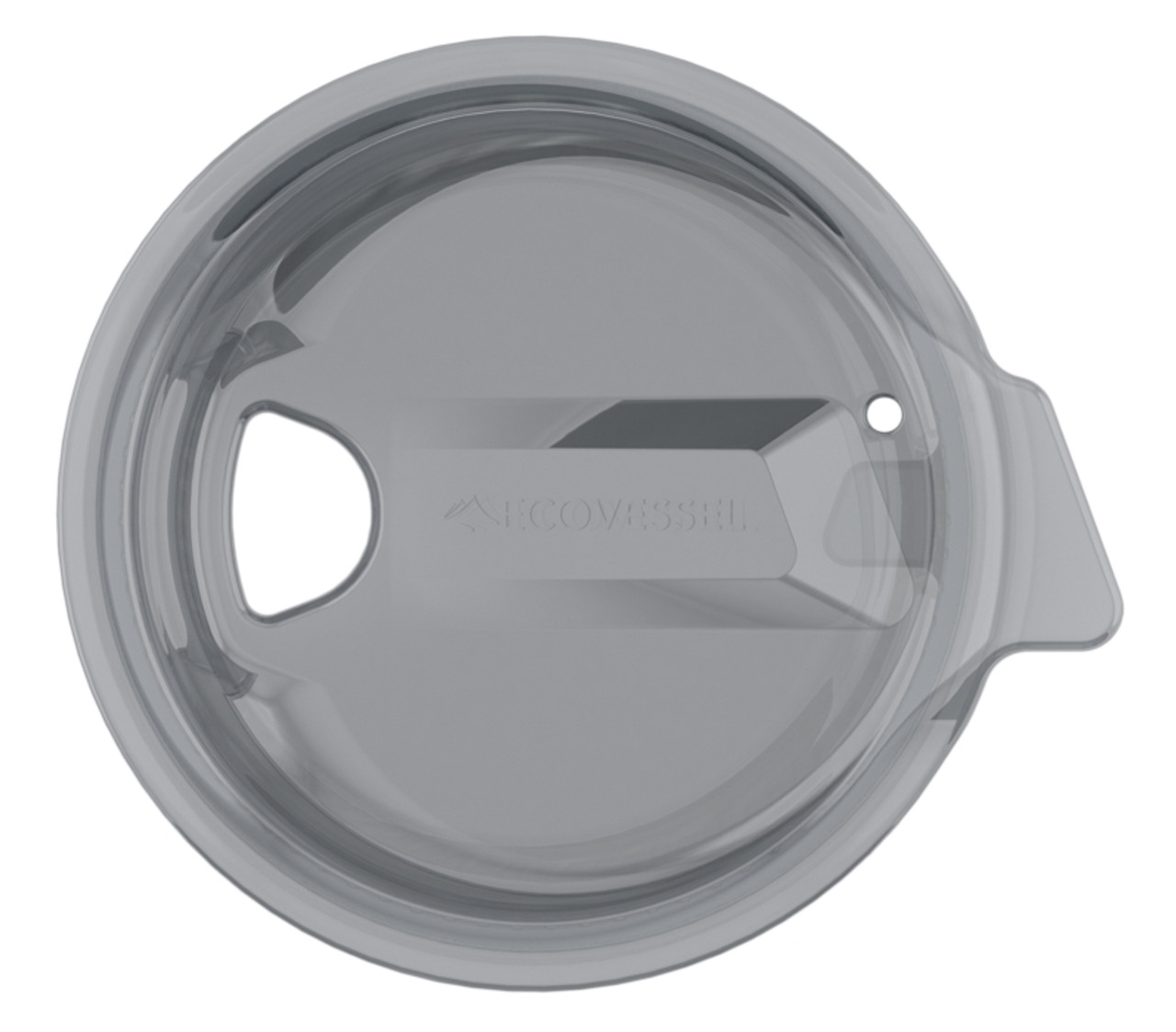 Easy clean drinking lid