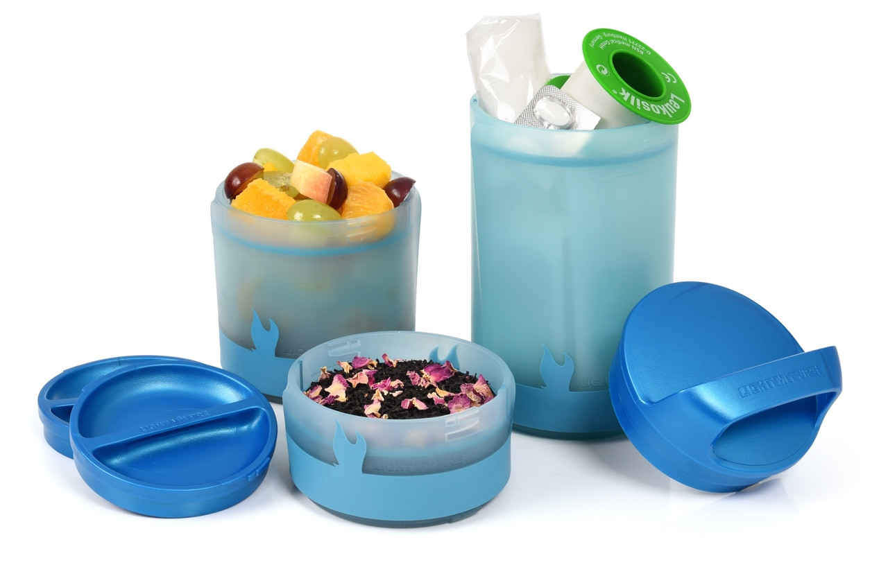 Add-a-Twist Multi-Compartment Food Container