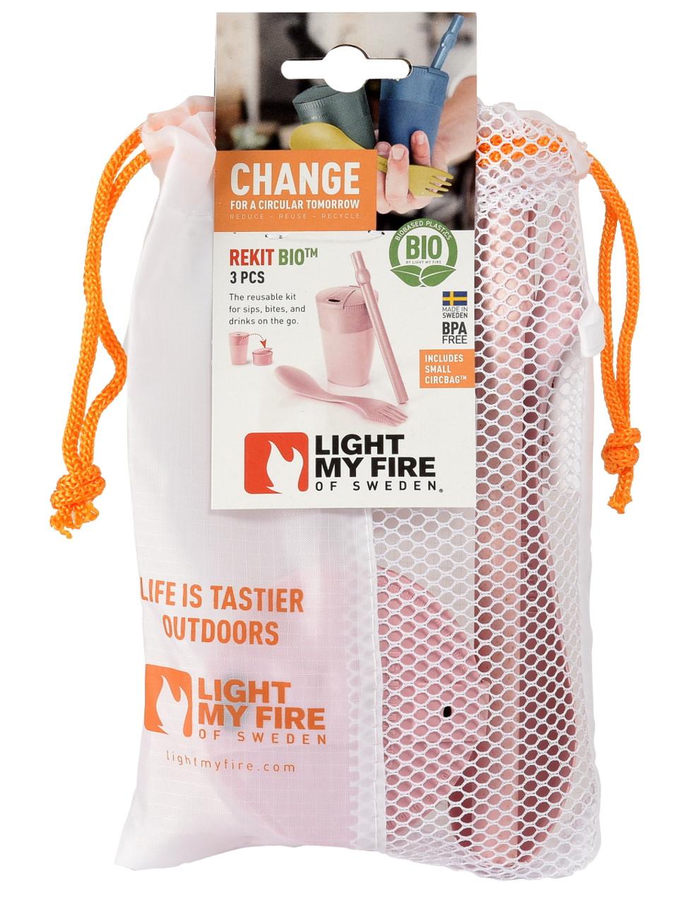 Light My Fire ReKit Bio (Collapsible Cup, Spork, Straw)