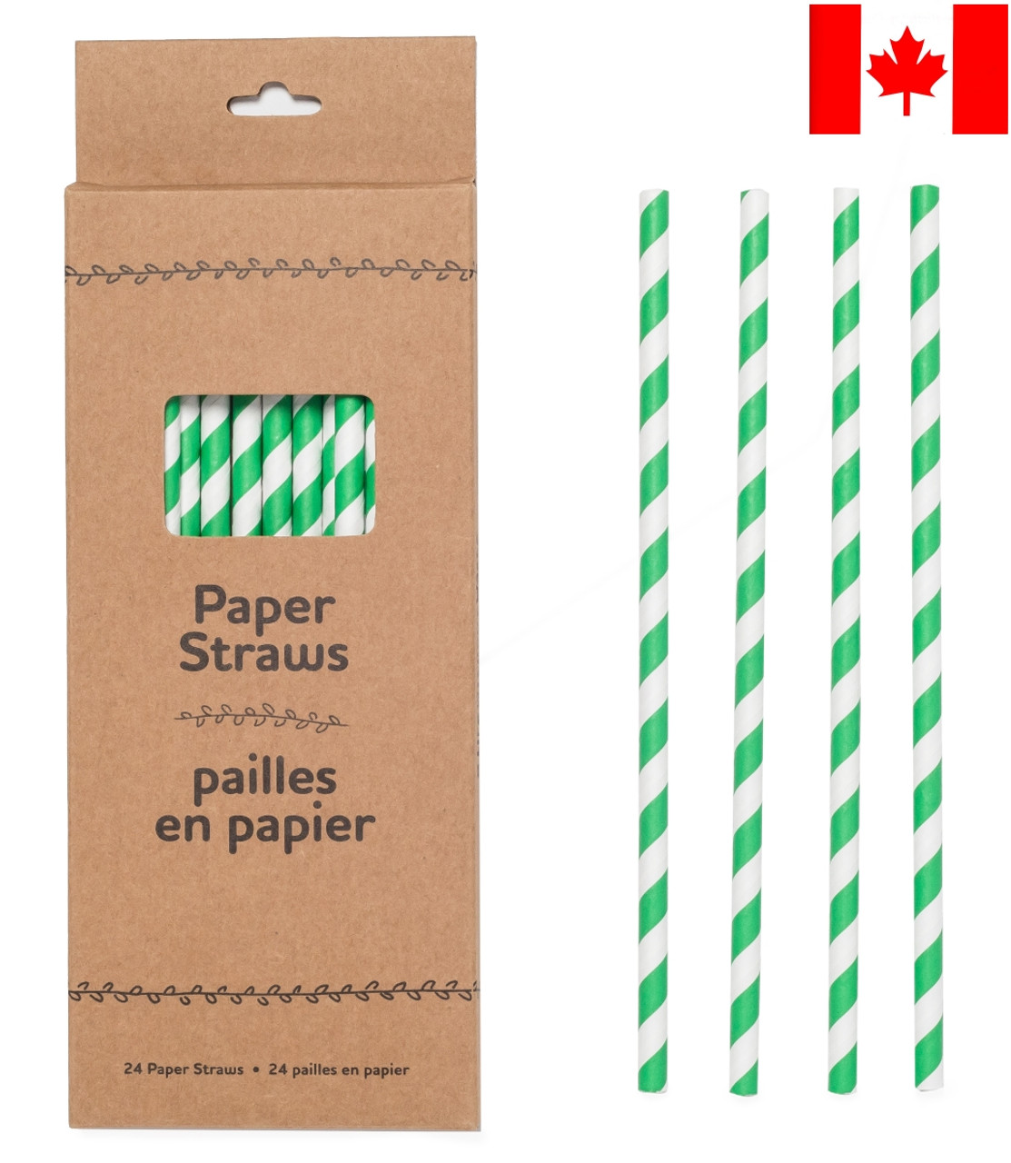 Life Without Waste Paper Straws (24-pack)