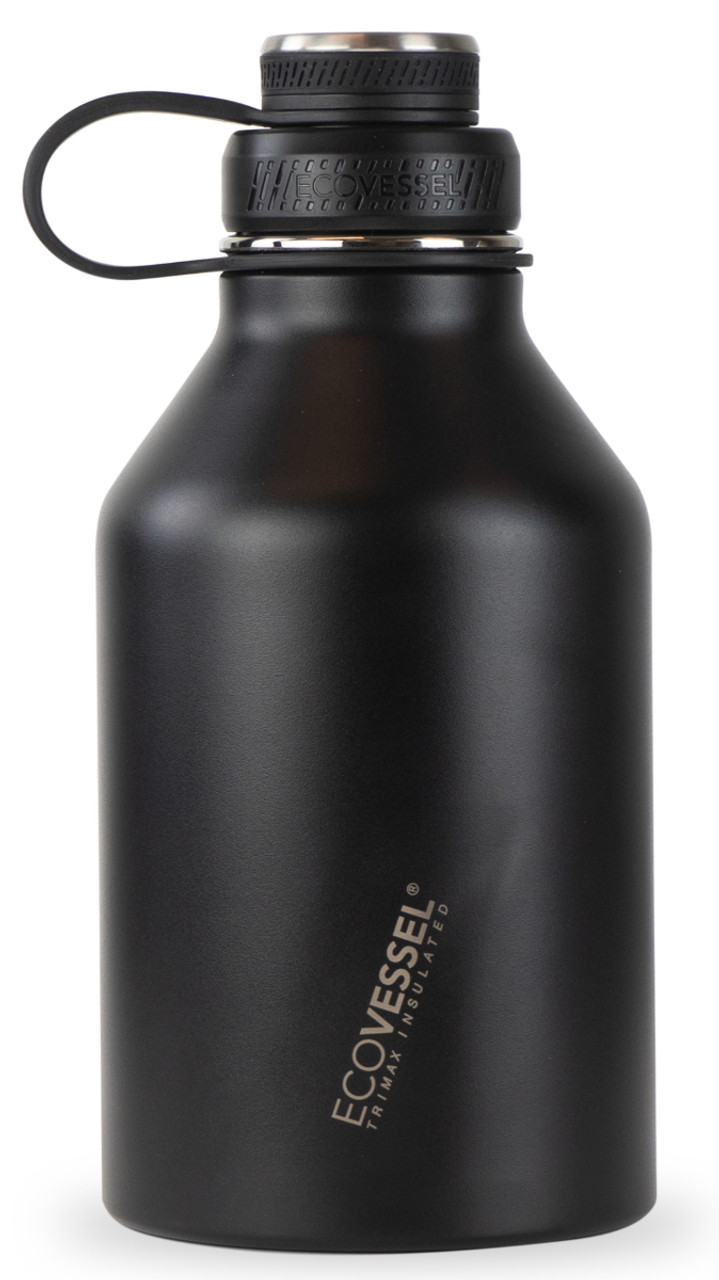 64 oz EcoVessel Boss Triple Insulated Stainless Steel Growler