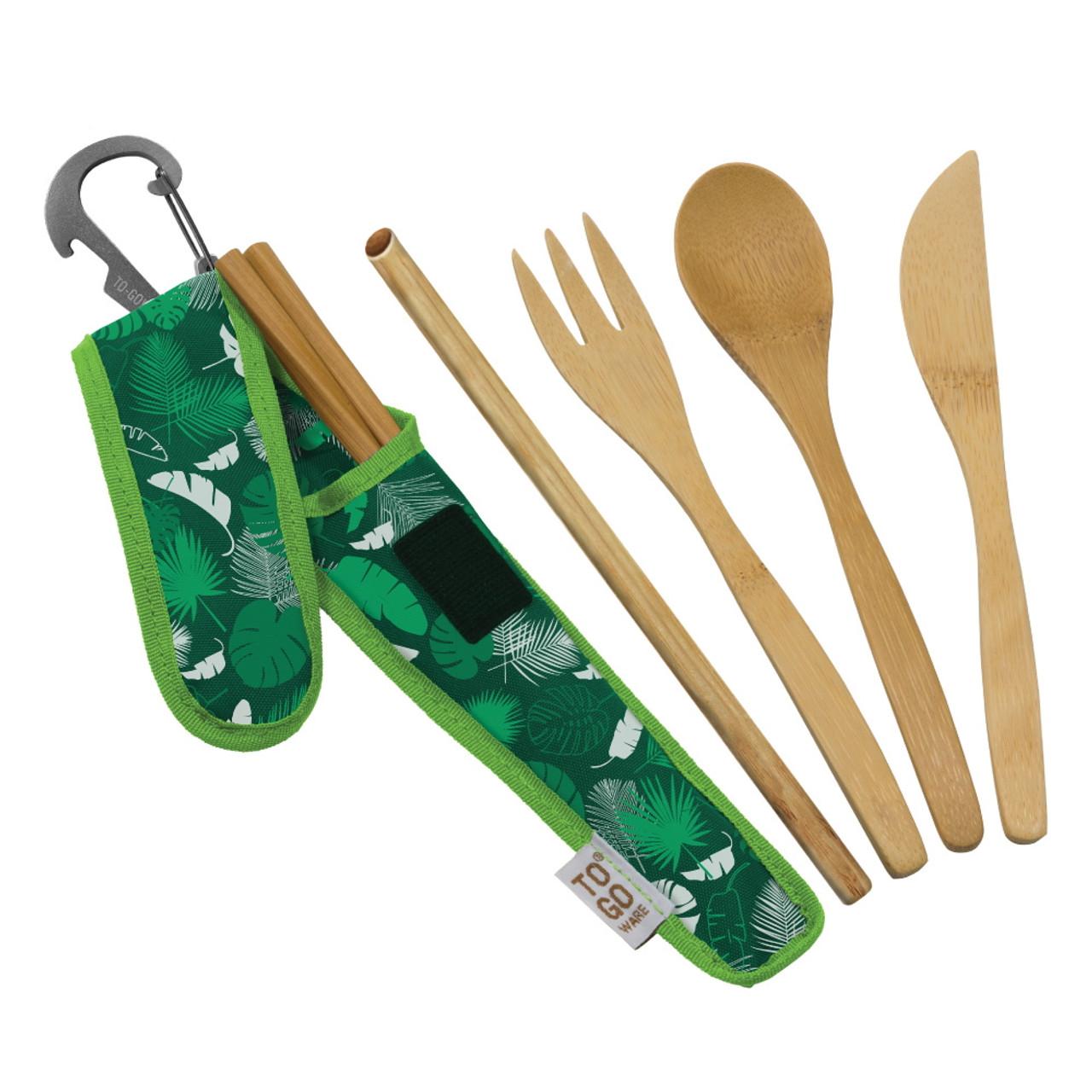 To Go Ware RePETe Premium Bamboo Utensil Set