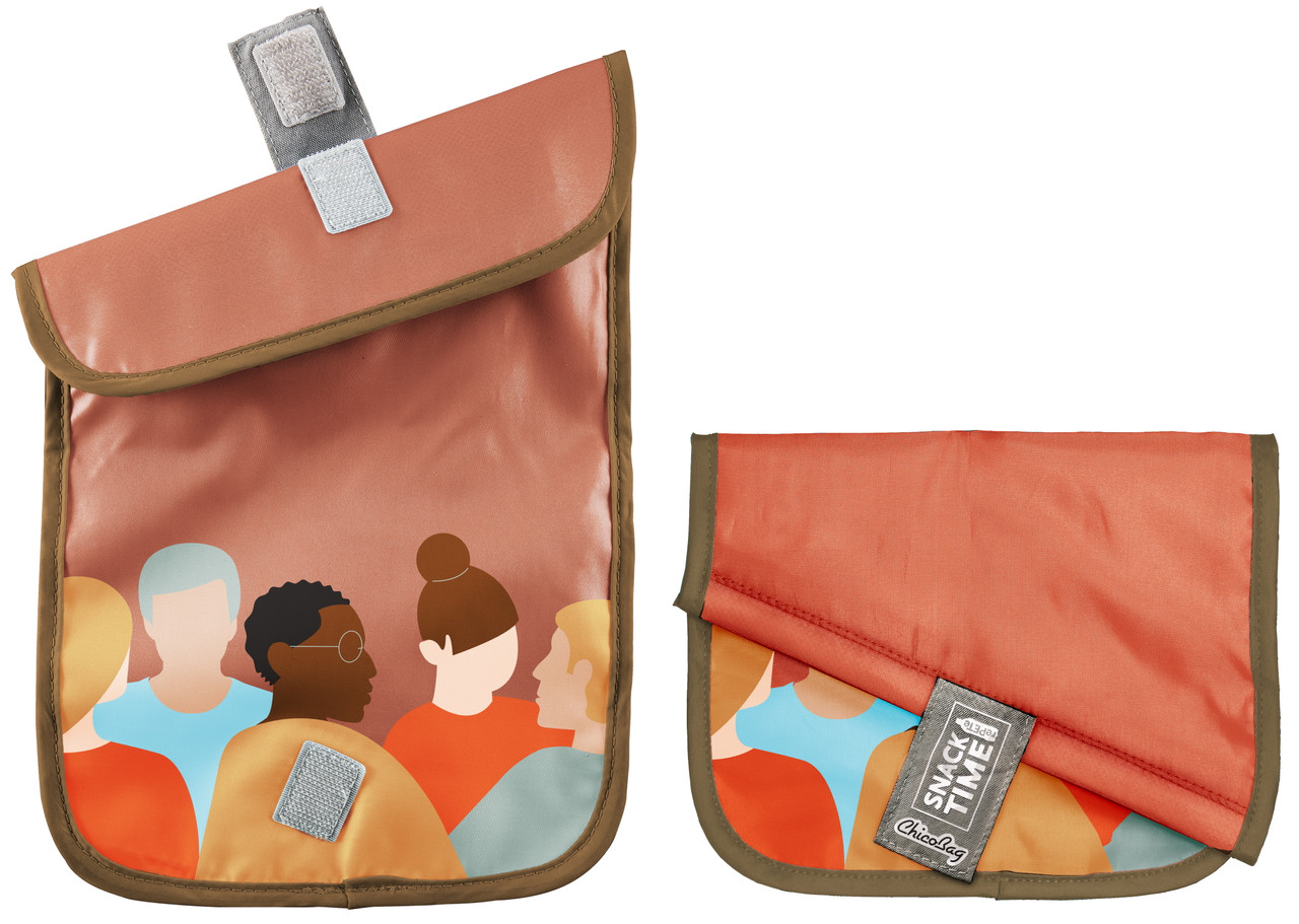 Custom Printed ChicoBag Snack Time Snack/Sandwich Bag