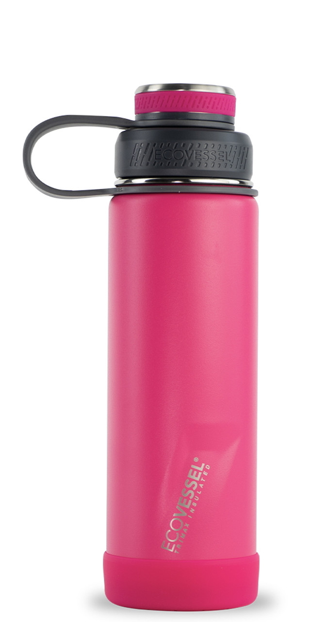 20 oz EcoVessel Boulder Insulated Stainless Steel Water Bottle