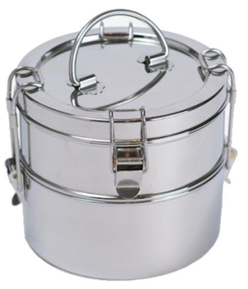 To-Go Ware 2 Tier Stainless Steel Food Carrier
