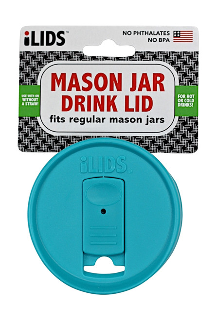 iLid Regular Mouth Mason Jar Drink Lid