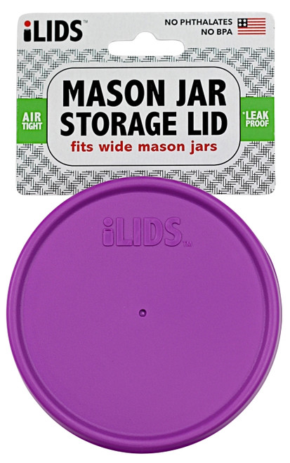 iLid Wide Mouth Mason Jar Storage Lid