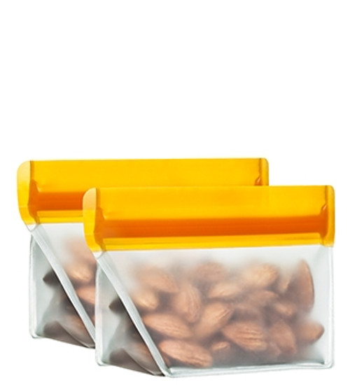 1/2 cup (re)zip Stand-Up Food Storage Bag (2-pack)