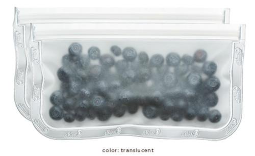 (re)zip Lay-Flat Snack Leakproof Reusable Storage Bags (2-pack)