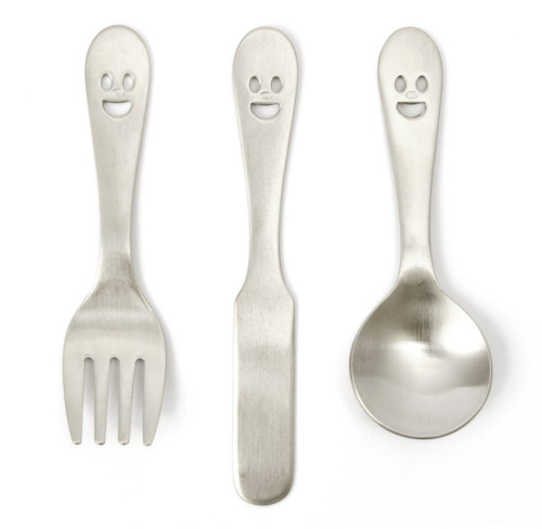 Happy Face Petit Cutlery (12 Pack)