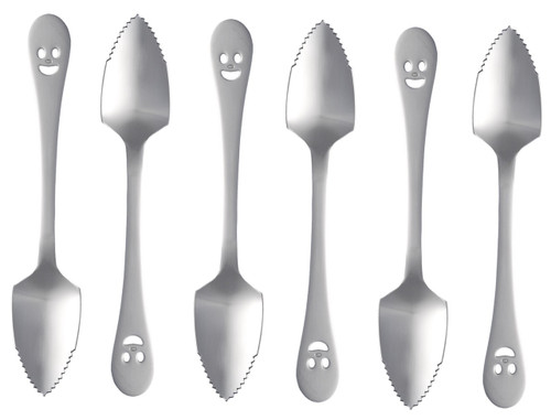 Happy Face Grapefruit Spoon (138 mm) (12-pack)