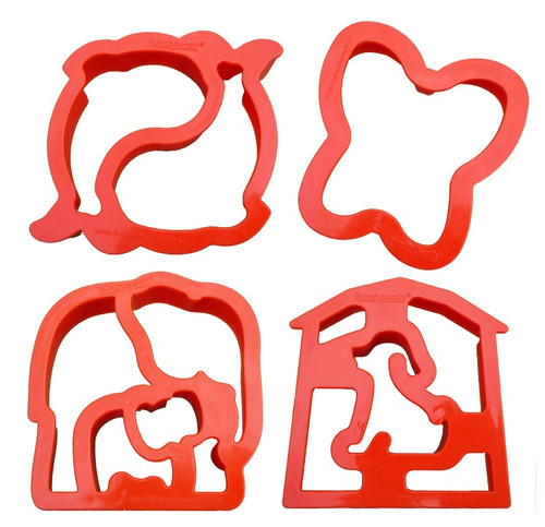 Lunchpunch Sandwich Critter Cutters (4-pack)