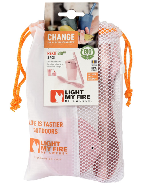 Light My Fire ReKit Bio (Collapsible Cup, Spork, Straw)