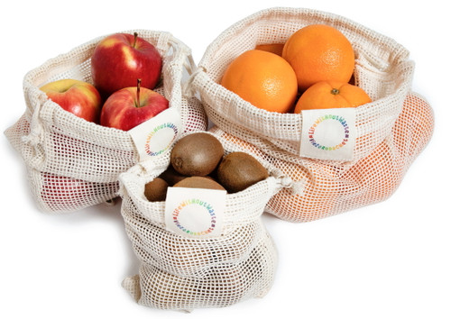 Life Without Waste Mesh Produce Bags (Set of 3)
