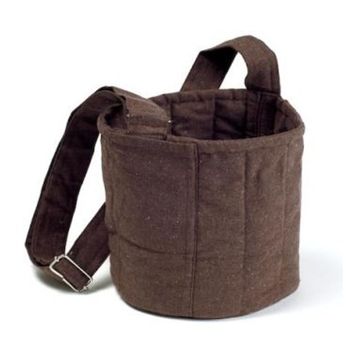 To-Go Ware 2-Tier Cotton Carrier Bag, Plum Brown