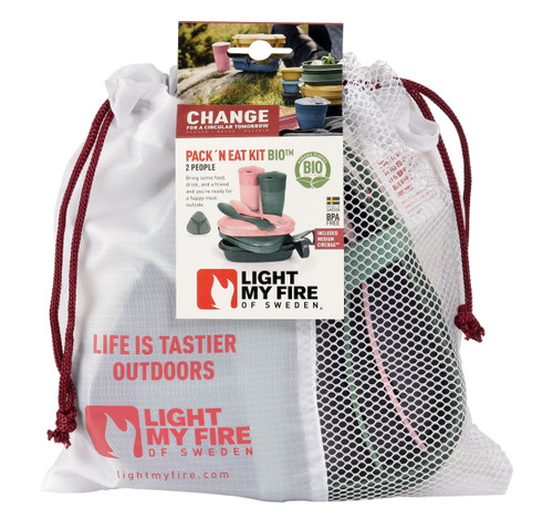 Light My Fire Pack 'n Eat Kit Bio (Biobased Bioplastics)